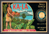 "Ka-La ""The Sun"" Brand Framed Giclee Print"