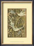 Batik Garden II Art by Jennifer Goldberger