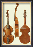 Antique Violas II Posters by William Gibb