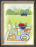Country Picnic Posters by Lorraine Cook