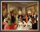 Une Soiree a l'Hotel de Verteillac, 35 Bd des Invalides Prints by Horace De Callias