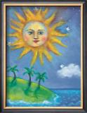 The Sun Framed Giclee Print by Nichola Moss