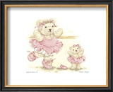 Ballerina Bears II Prints by Sarah Bengry