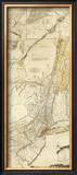 The Provinces of New York, and New Jersey, c.1776 Framed Giclee Print by Thomas Jefferys