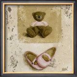 Nounours Rose et Chaussures Art by Véronique Didier-Laurent