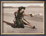 Dance of the Turtle, Hula Girl Posters by Alan Houghton