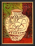 Lotus Pot I Posters by Joyce Lieberman