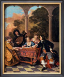 Compagnie Faisant de la Musique Art by Jacob van Loo