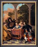 Compagnie Faisant de la Musique Art by Jacob van Loo