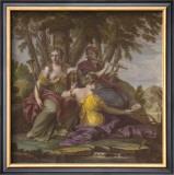 Muses V Print by Eustache Le Sueur