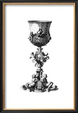 Black and White Goblet III Poster by Giovanni Giardini