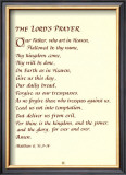 The Lord's Prayer Posters
