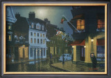 Night in Old Montreal Prints by Denis Nolet
