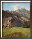 The Chalet Prints by Ferdinand Georg Waldmueller
