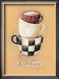 Cafe Espresso Posters by Nicola Evans