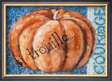 Citrouille Poster by Mette Galatius