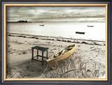 Bateau Sur Plage Prints by Jean Onesti