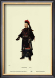 Chinese Mandarin Figure Posters