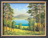 Otmuchow Lake Art by H. Buchner