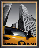 Chrysler Building, New York City Taxi Posters by Michel Setboun