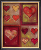 All Hearts Beat as One Prints by G.p. Mepas