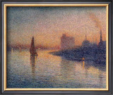 Sailing River Thames Print by Forge William