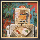 Robot III Print by Isabelle Cochereau
