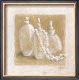 Perles Blanches Prints by Véronique Didier-Laurent
