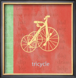 Vintage Toys Tricycle Prints by Paula Scaletta