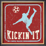 Kickin It Posters by Peter Horjus