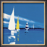 Regatta Print by Guy Fontdeville
