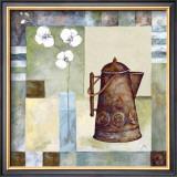 Asian Teapot I Print by Marietta Cohen
