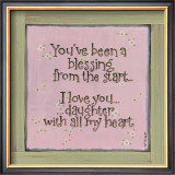 You've Been a Blessing Prints by Karen Tribett