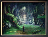 Travelers in the Mysterious Forest Framed Giclee Print by Kyo Nakayama