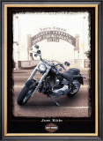 Just Ride Poster by Helen Flint