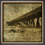 Ocean Pier No. 2 Print by John Golden