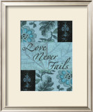 Love Never Fails Posters by Marilu Windvand