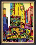 Millenium NYC Print by Geraldine Potron