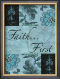 Faith First Poster by Marilu Windvand