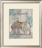 Family, Faith, Community Posters by Sam Appleman