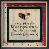 Simplify Your Life Prints by Karen Tribett