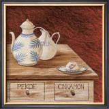 Valentine Tea Prints by J.l. Vittel
