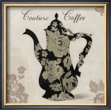 Couture Coffee Poster by Marco Fabiano