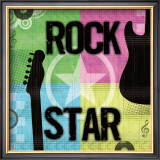 Rock Star Prints by Louise Carey