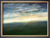 Morning Sun That Shines on the Meadow Framed Giclee Print by Kyo Nakayama