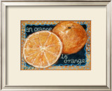 Orange Art by Mette Galatius
