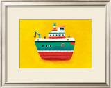 Tug Boat Print by Simon Hart