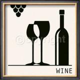Wine Prints by Ute Nuhn