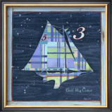Gaff Rig Cutter Prints by Geoff Allen