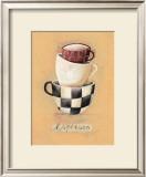 Cafe Espresso Prints by Nicola Evans
